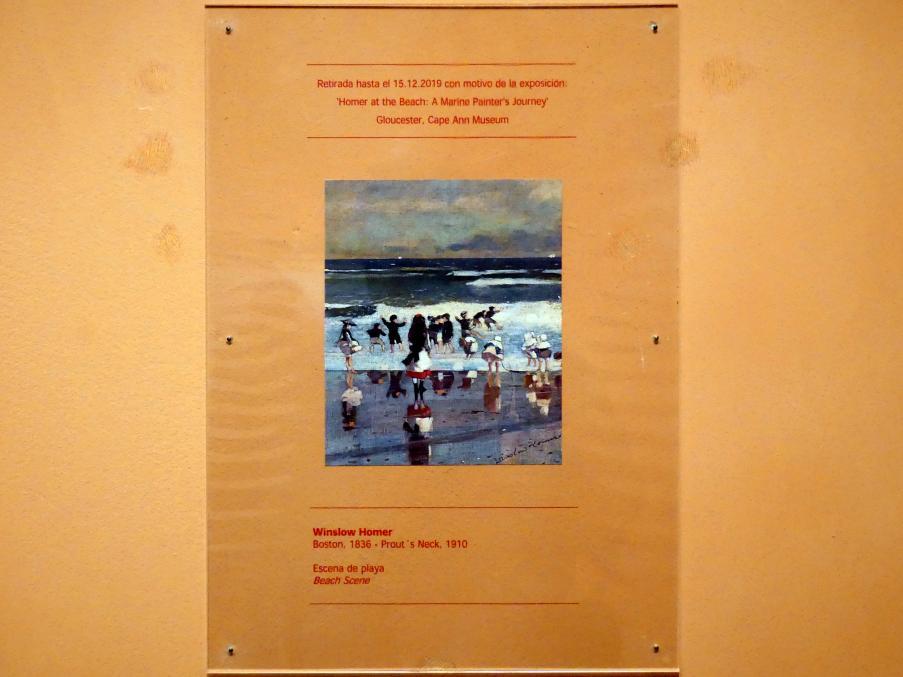 Winslow Homer: Strandszene, um 1869