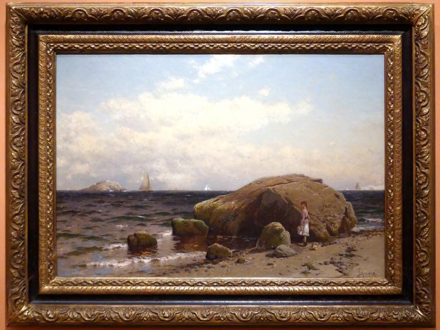 Alfred Thompson Bricher: Blick aufs Meer, um 1885
