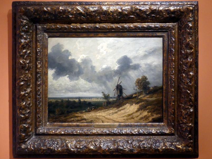 Georges Michel: Landschaft mit Mühle, Undatiert