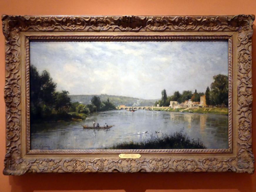 Stanislas Lépine: Die Seine am Pont de Sèvres, um 1876 - 1880