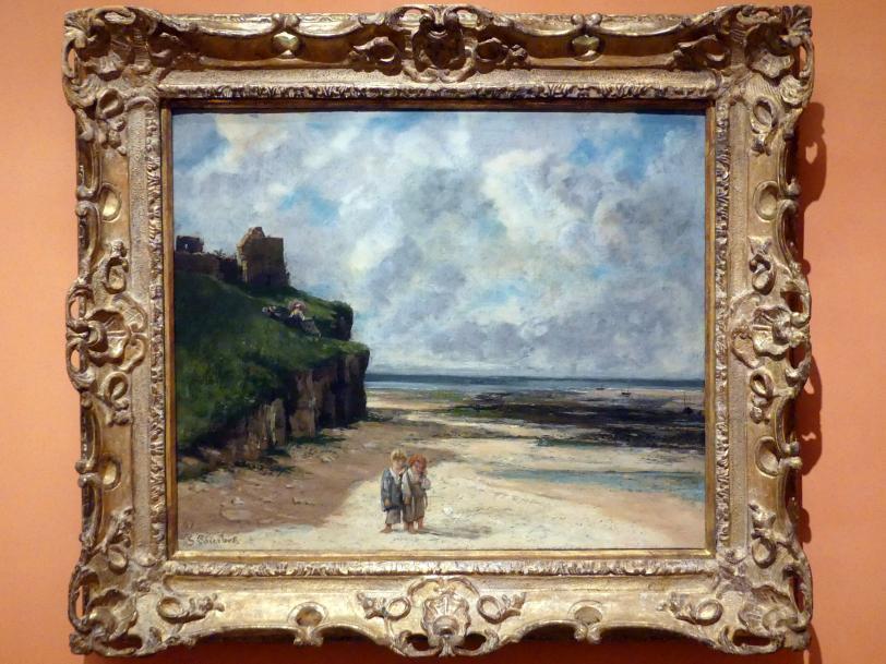 Gustave Courbet: Die Kinder des Fischers, 1867