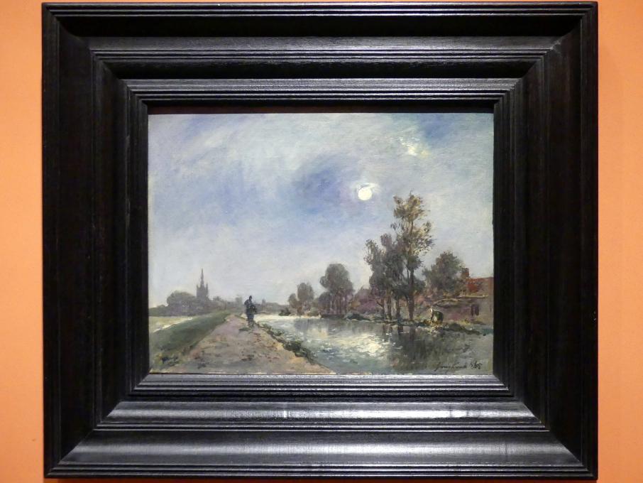Johan Barthold Jongkind: Leinpfad bei Overschie, 1865