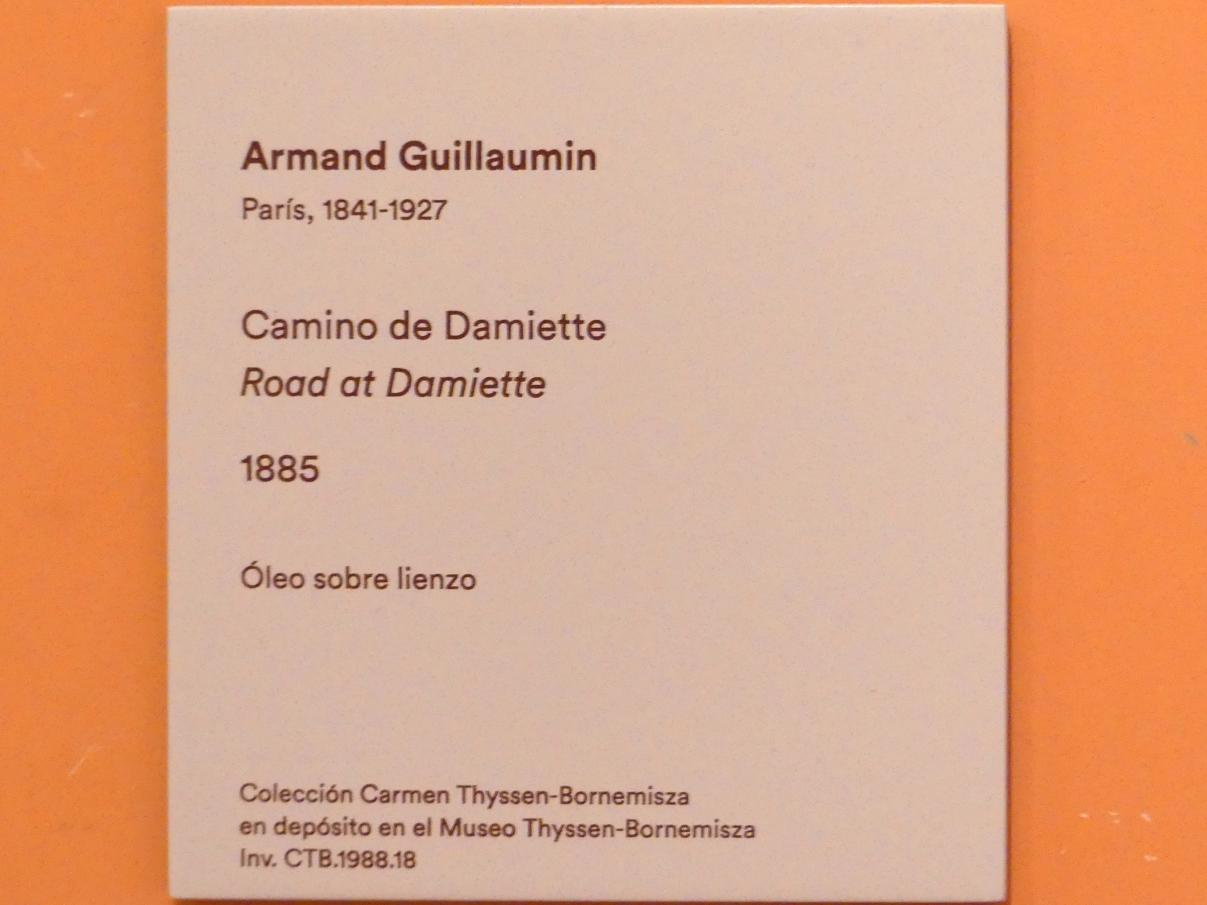 Armand Guillaumin: Straße bei Damiette, 1885, Bild 2/2