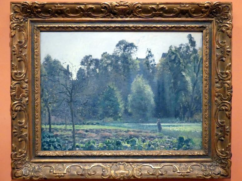 Camille Pissarro: Kohlfeld, Pontoise, 1873