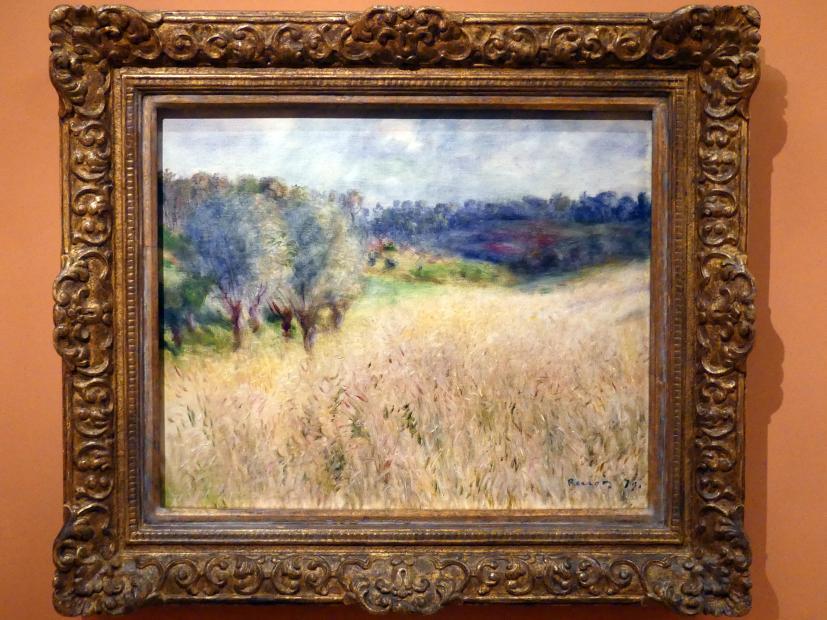 Pierre-Auguste Renoir: Weizenfeld, 1879