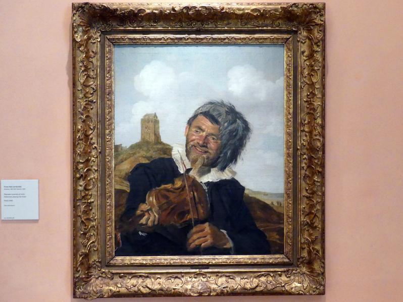 Frans Hals: Fischer Violine spielend, um 1630