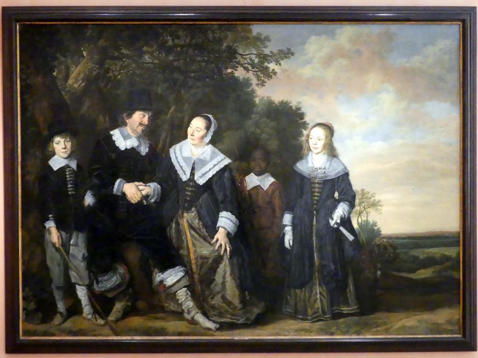 Frans Hals: Familie in einer Landschaft, 1645 - 1648