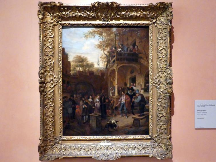 Jan Havickszoon Steen: Landhochzeit, Um 1649 - 1655