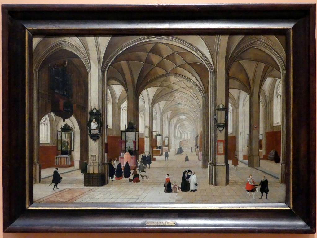 Peeter Neeffs der Ältere: Interieur einer gotischen Kirche, 1615 - 1616