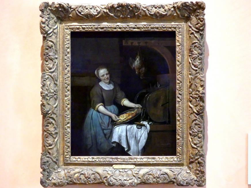 Gabriël Metsu: Die Köchin, um 1657 - 1662