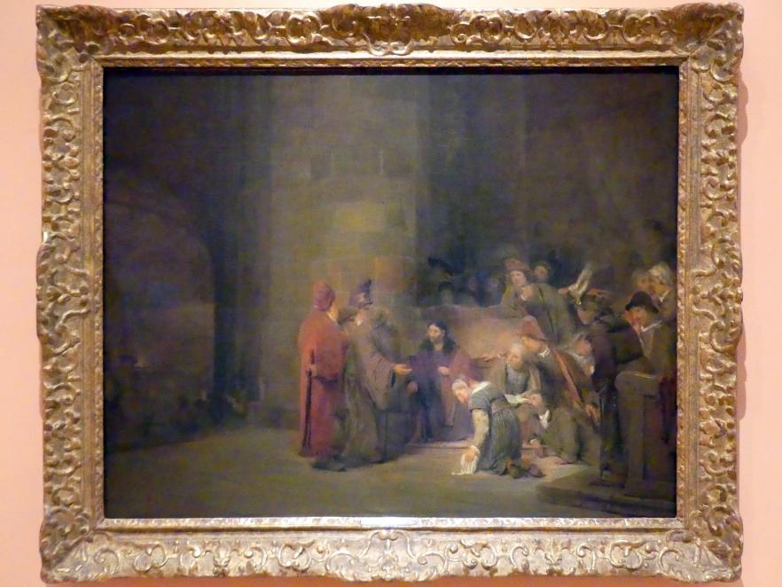 Aert de Gelder: Christus und die Ehebrecherin, 1683