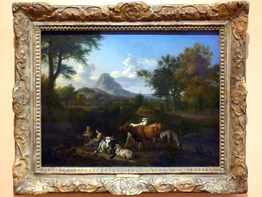 Adriaen van de Velde: Hirtenszene, 1663