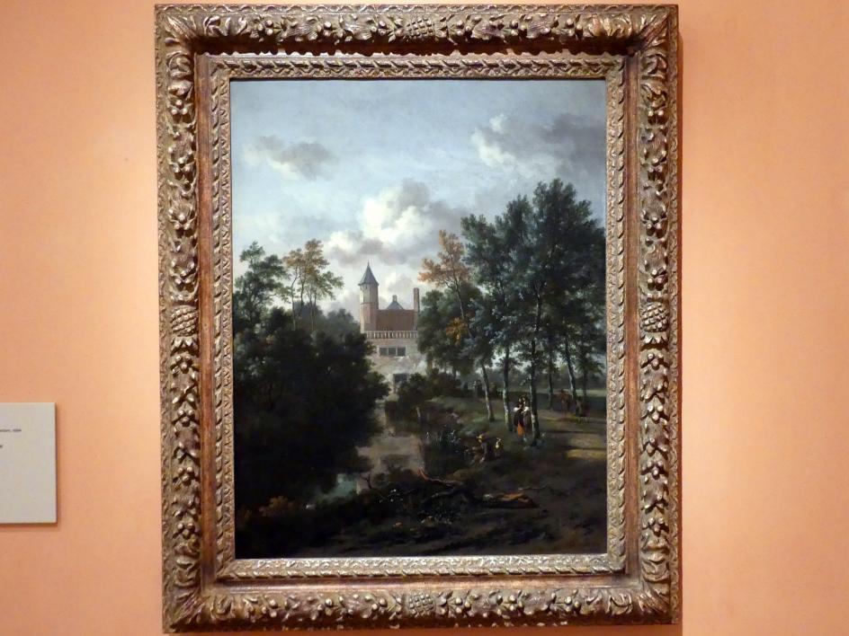 Jan Wijnants: Schloss im einem Wald, 1667