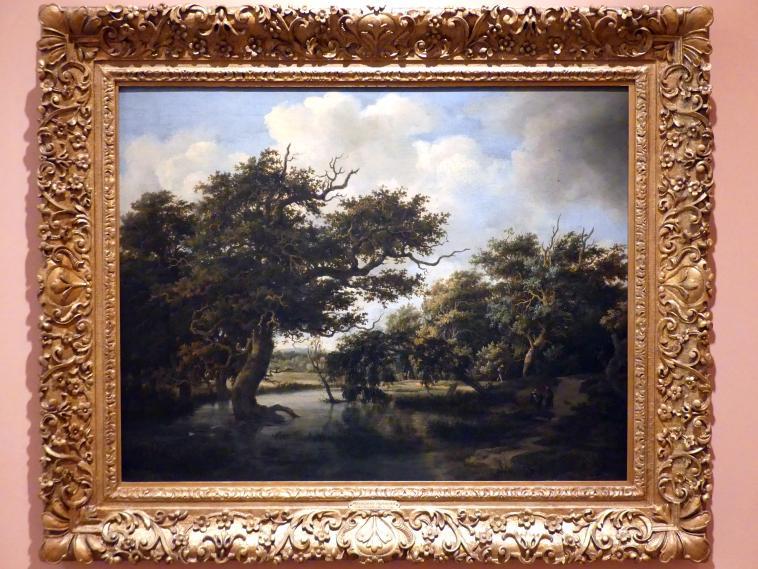 Meindert Hobbema: Waldtümpel, um 1660 - 1663