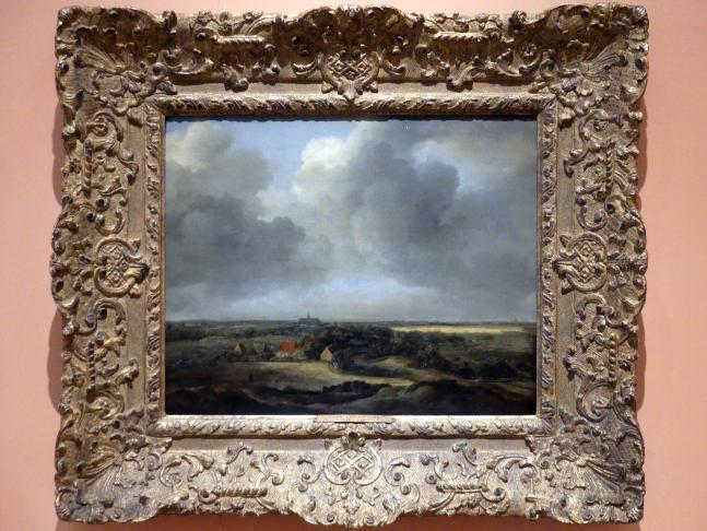 Jacob van Ruisdael: Bleichfelder in Bloemendaal bei Haarlem, um 1660 - 1670