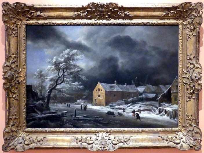 Jacob van Ruisdael: Winterlandschaft, Um 1670