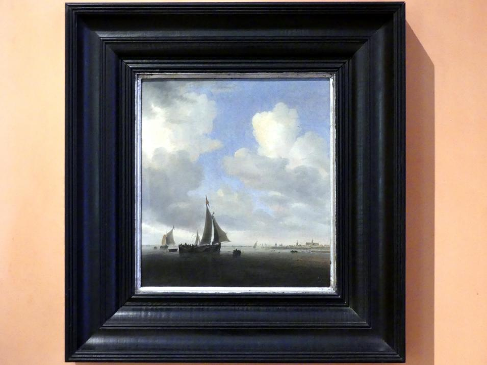 Salomon van Ruysdael: Blick auf Alkmaar, 1650