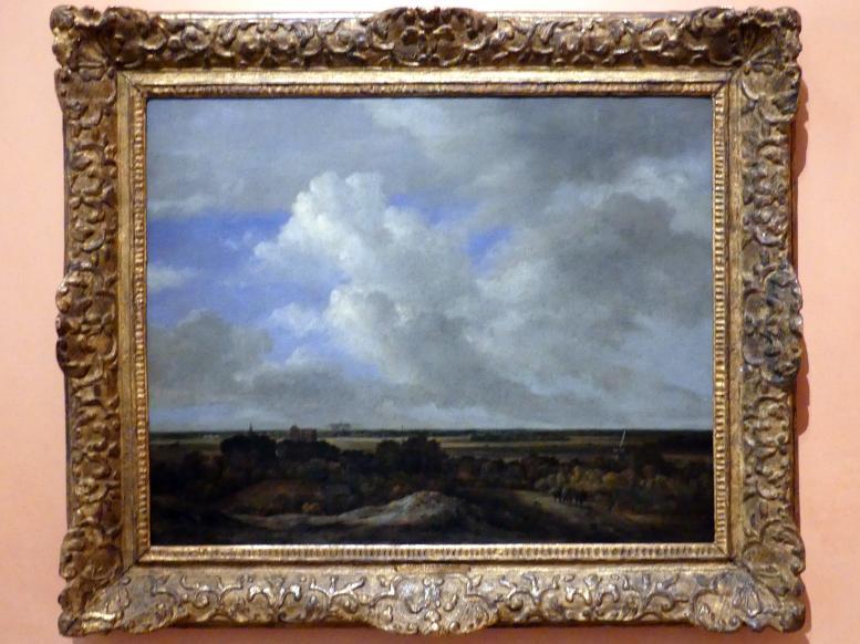 Jacob van Ruisdael: Blick von den Küstendünen in das Landesinnere, um 1670