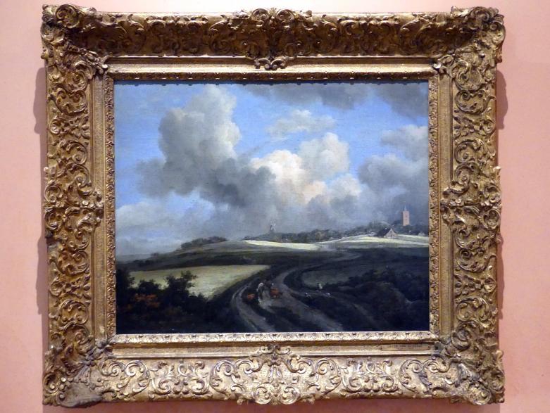 Jacob van Ruisdael: Weg durch Maisfelder bei Zuiderzee, um 1660 - 1662
