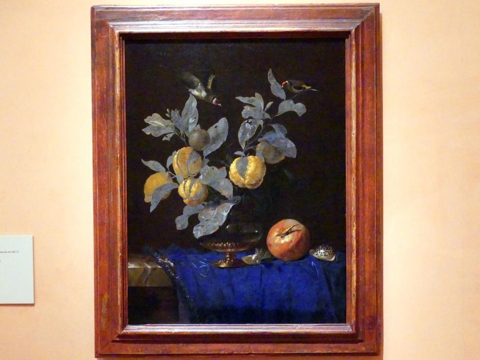 Willem van Aelst: Stillleben mit Obst, 1664