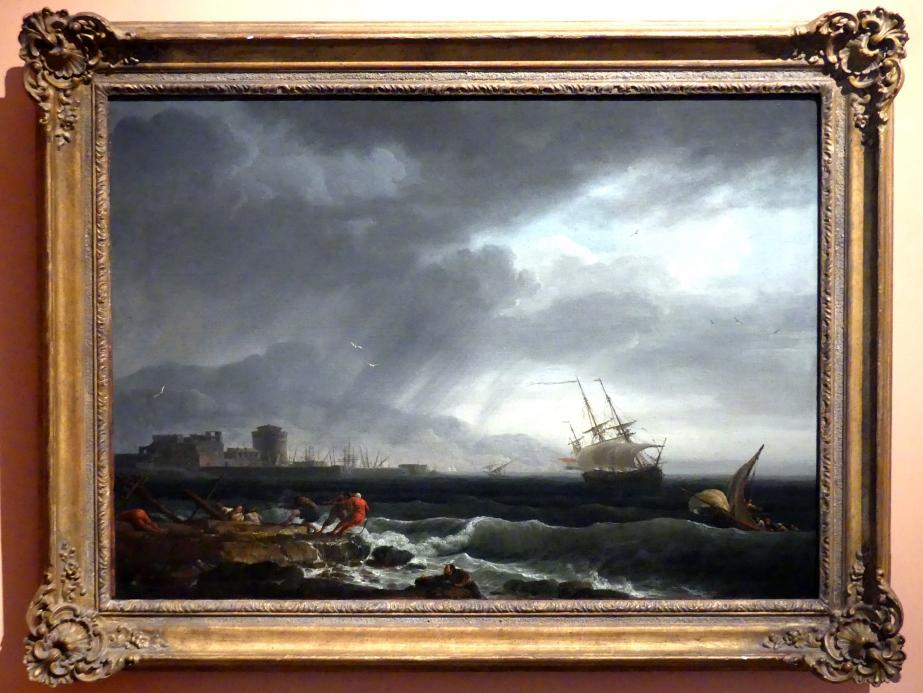 Claude Joseph Vernet: Stürmische See, 1748