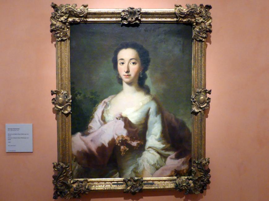 George Desmarées: Porträt der Maria Rosa Walburga von Soyer, 1750