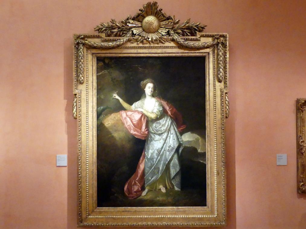 Johann Zoffani: Porträt der Schauspielerin und Sängerin Ann Brown (1748–1784) in der Rolle der Miranda in The Tempest, 1770