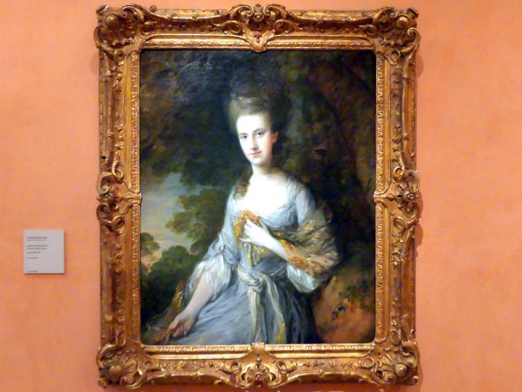 Thomas Gainsborough: Porträt von Sarah Buxton, um 1776 - 1777