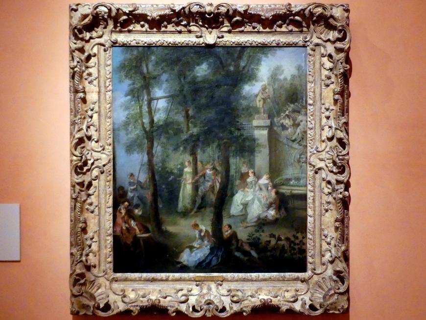 Nicolas Lancret: Die Schaukel, um 1735 - 1740