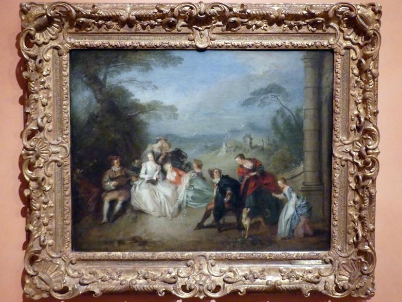 Jean-Baptiste Pater: Ländliches Konzert, 1734