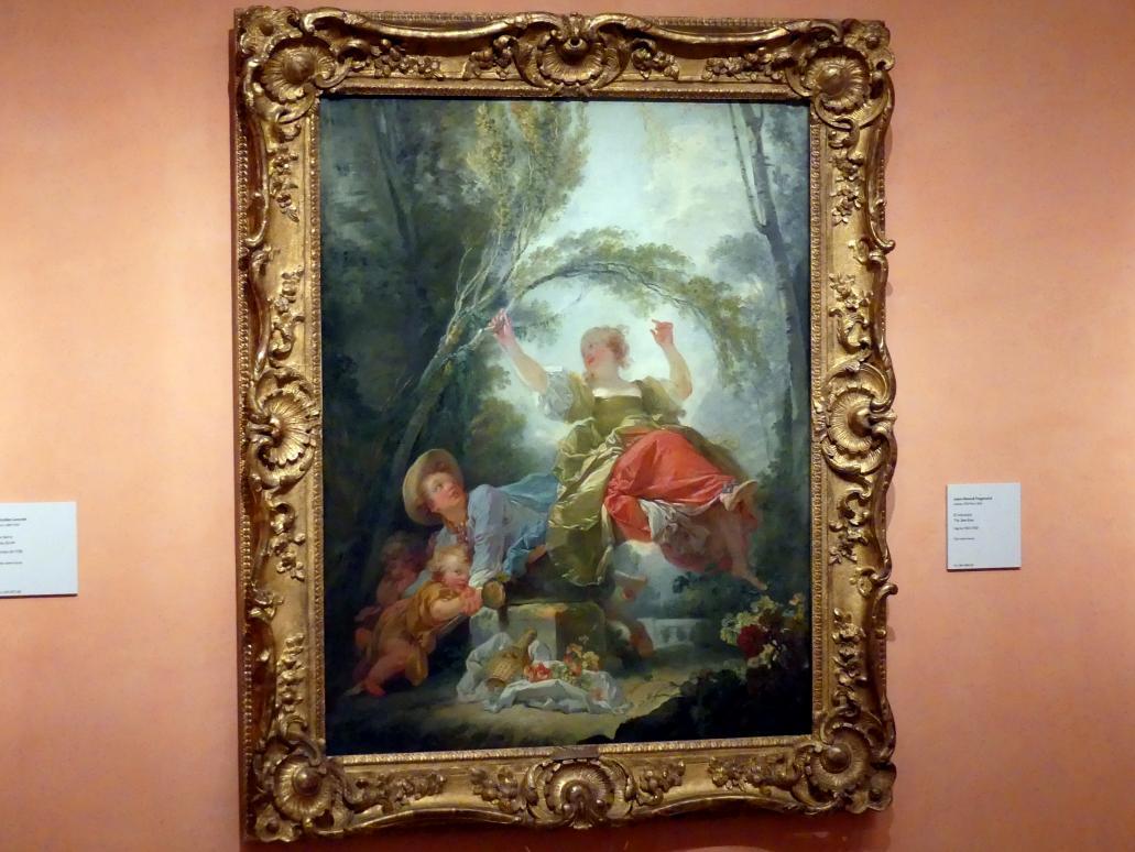 Jean-Honoré Fragonard: Die Wippe, um 1750 - 1752