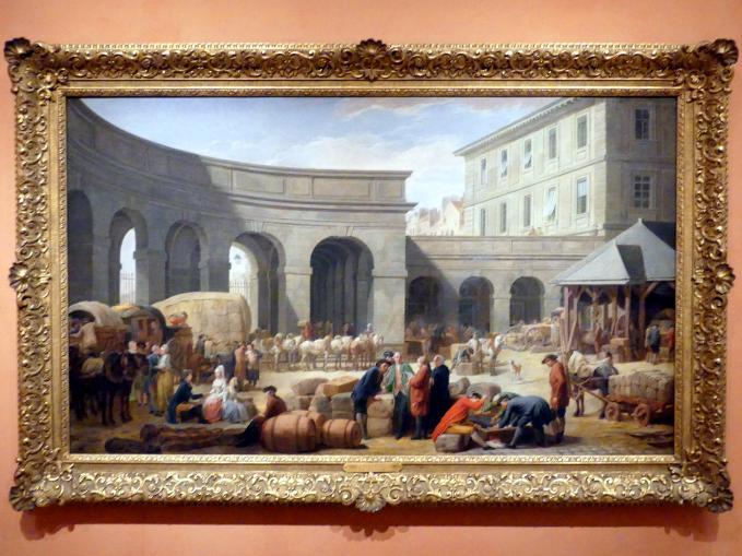 Nicolas Bernard Lépicié: Der Hof des Zollhauses, 1775