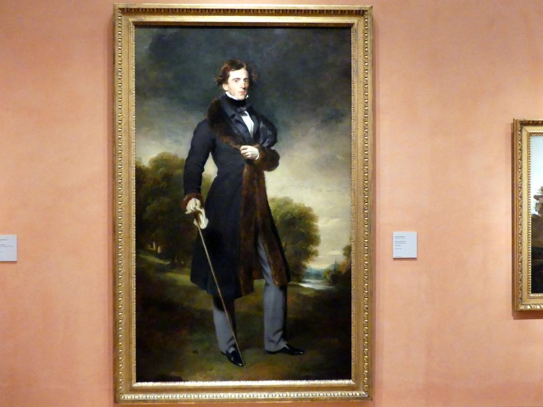 Thomas Lawrence: Porträt des David Lyon, Um 1825