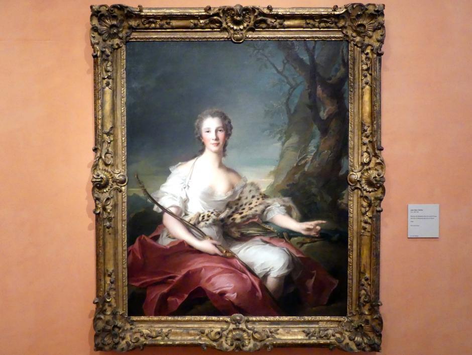 Jean-Marc Nattier: Porträt von Madame Bouret als Diana, 1745