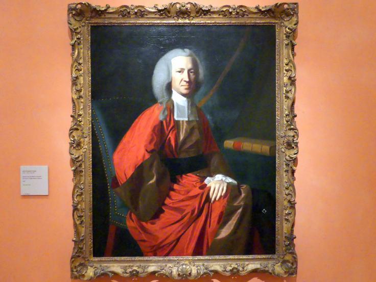 John Singleton Copley: Porträt des Richters Martin Howard, 1767