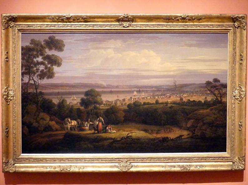 Robert Salmon: Blick auf Greenock, Schottland, 1816