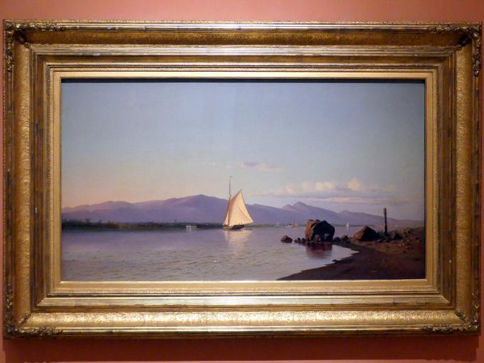 Francis A. Silva: Kingston Point, Hudson River, um 1873