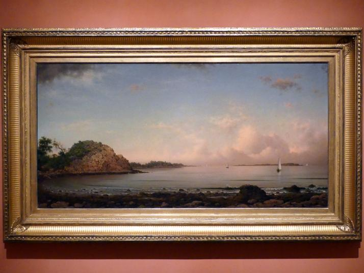 Martin Johnson Heade: Singing Beach, Manchester, 1862