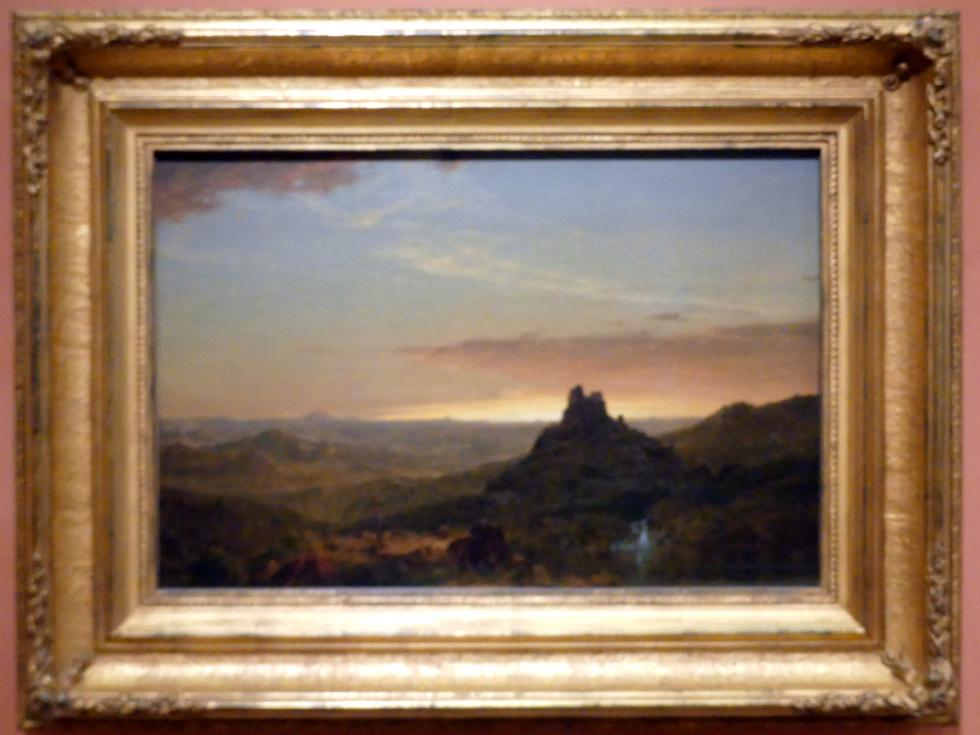 Frederic Edwin Church: Kreuz in der Wildnis, 1857