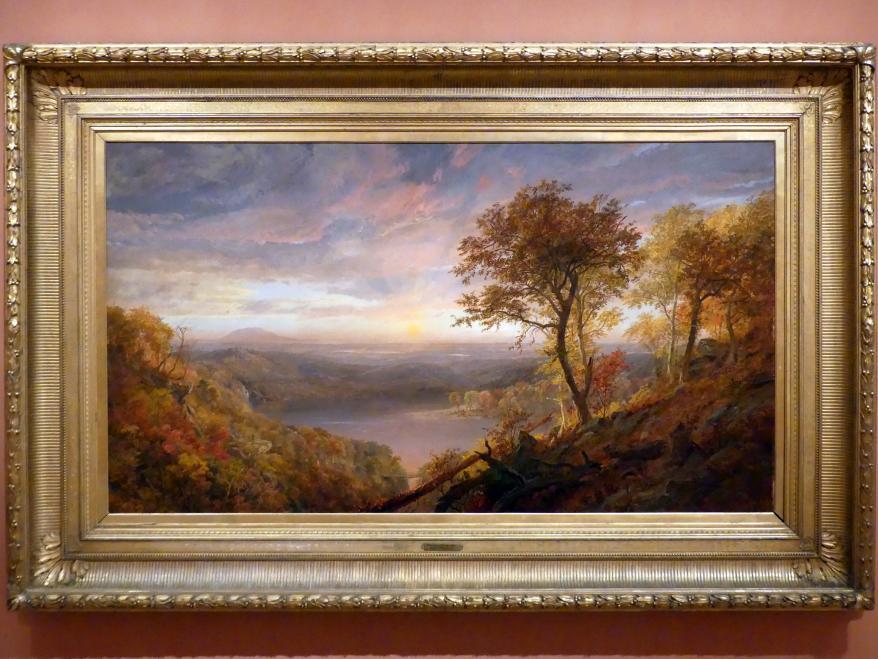 Jasper Francis Cropsey: Greenwood Lake, 1870