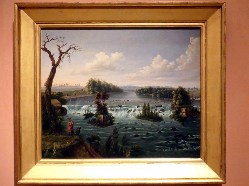 Henry Lewis: Die Saint-Anthony-Fälle, Oberer Mississippi, 1847