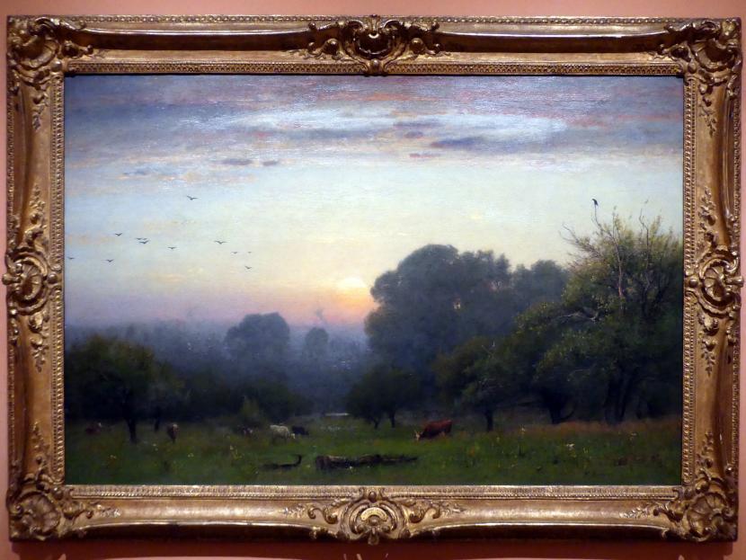 George Inness: Der Morgen, Um 1878