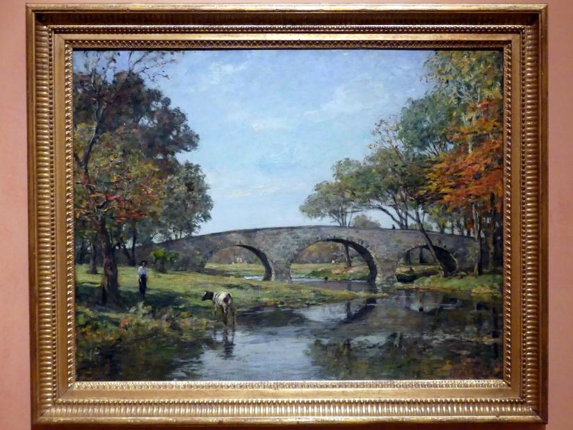 Theodore Robinson: Die alte Brücke, 1890