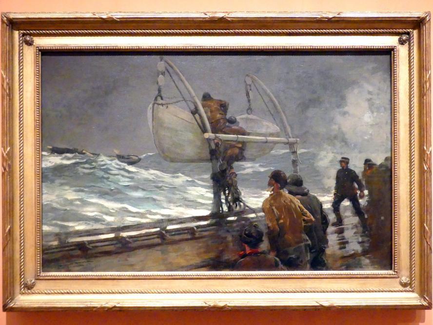 Winslow Homer: Gefahrensignal, 1890