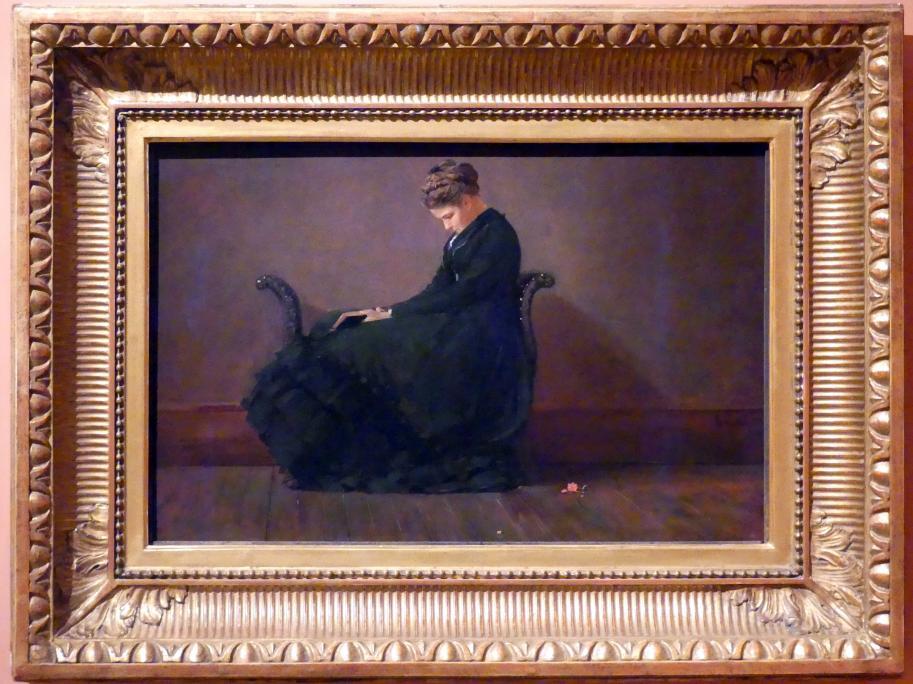Winslow Homer: Porträt der Helena de Kay, um 1872