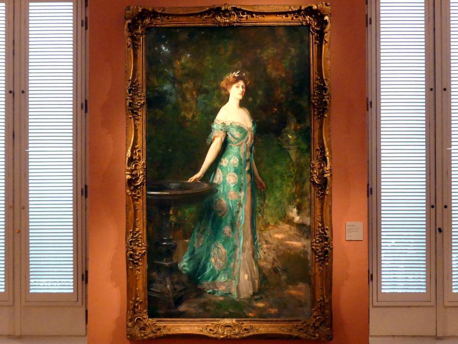 John Singer Sargent: Porträt von Millicent, Duchess of Sutherland, 1904