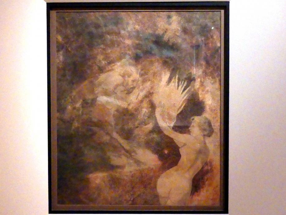 Arnold Böcklin: Pan jagt eine Nymphe, 1855