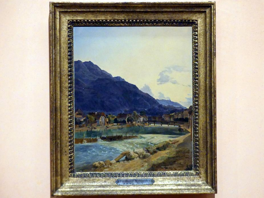 Ferdinand Georg Waldmüller: Bad Ischl, 1833