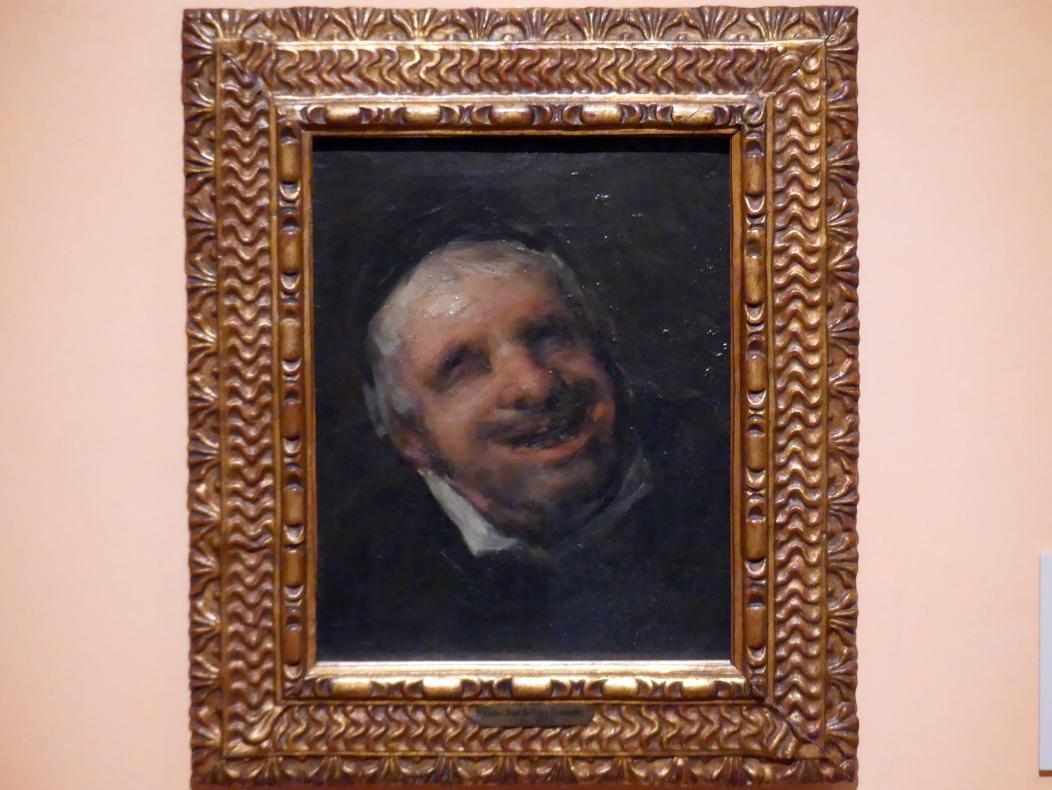 Francisco de Goya (Francisco José de Goya y Lucientes): El Tío Paquete, um 1819 - 1820