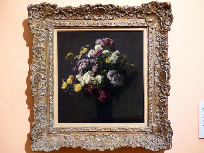 Henri Fantin-Latour: Vase mit Chrysanthemen, Undatiert